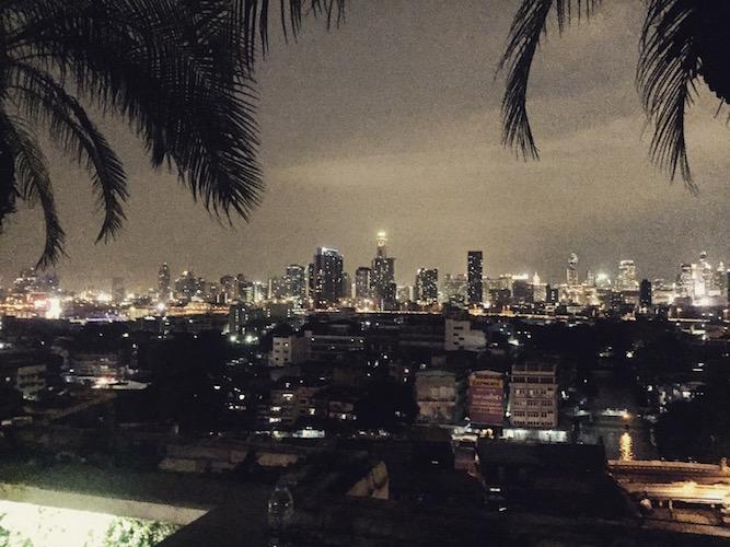 Bangkok Reise Aussicht